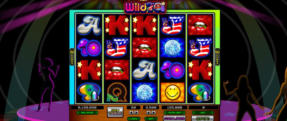 wild 70s theme free slots caesars casino